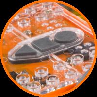 Edison robot buttons