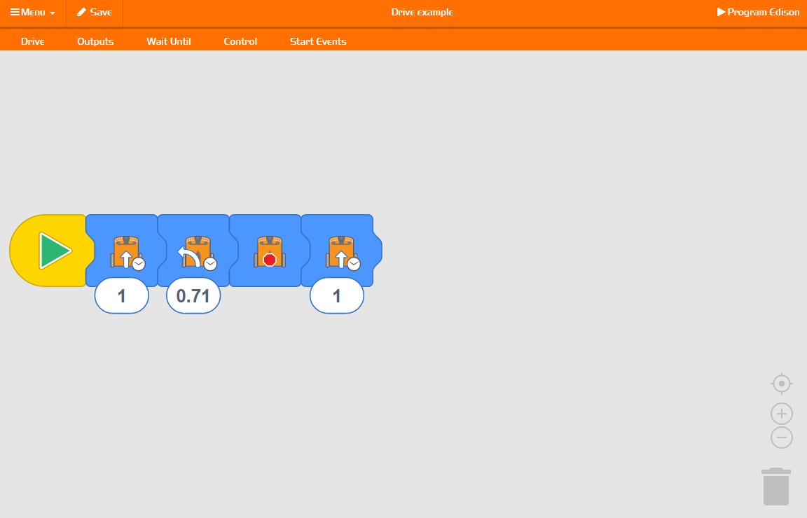EdBlocks Programming Interface