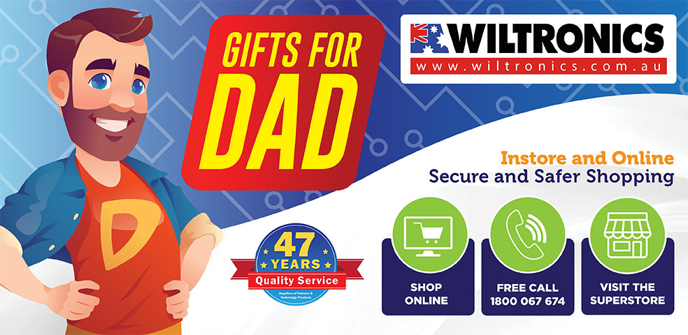 Gifts for Dad - Instore and online, secure and safer shopping