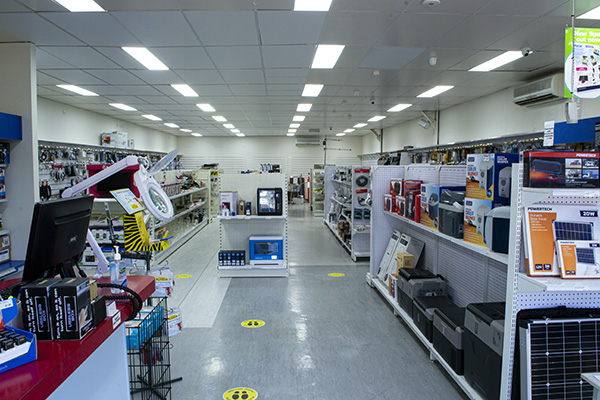 Wiltronics Store - Before and after renovations