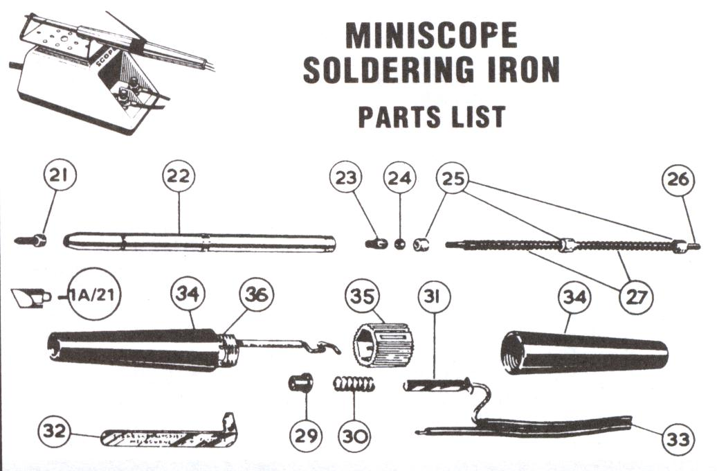 miniscope soldering iron