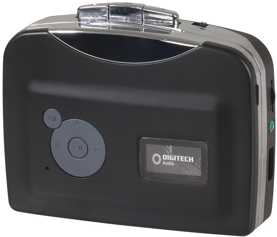Photo of a cassette to MP3 converter.