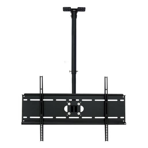 Photo of an adjustable ceiling mount bracket for TV mounting.