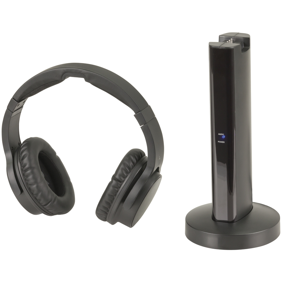 Headphones Wiltronics Transmitter And Receiver Infra Red Headphone 24ghz Wireless Rechargeable Stereo
