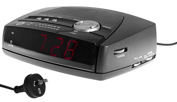 JAR1801 - AM/FM Alarm Clock Radio main