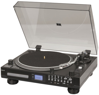 Turntable with CD & Media Player