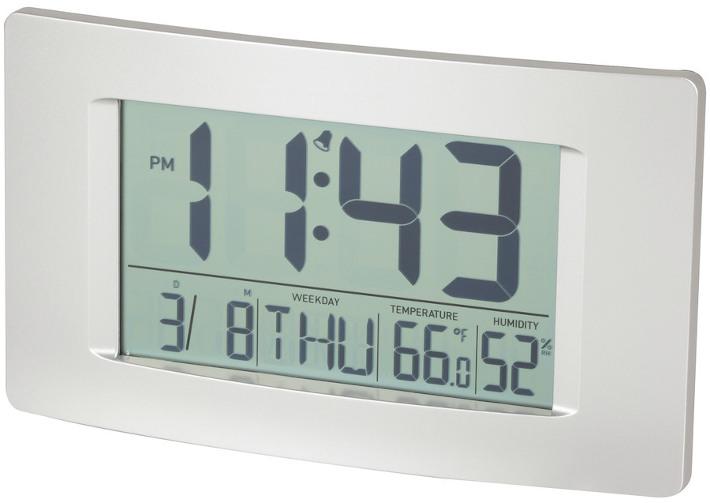 Large Display LCD Wall Clock
