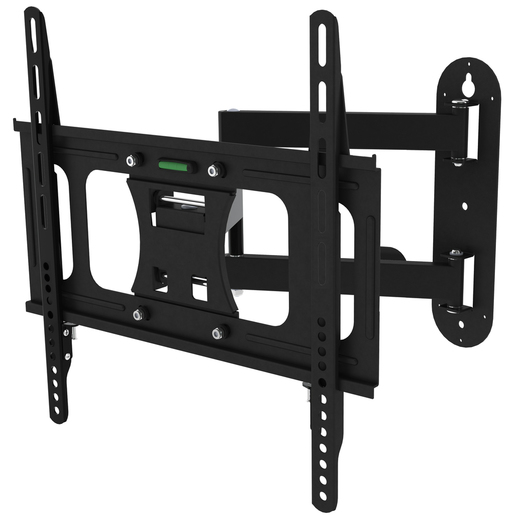 Photo of a wall mount bracket with 180 degree swivel for 23 to 55 inch LCD monitors.