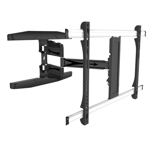 Photo of an LCD monitor wall mount bracket with 180 degree swivel.