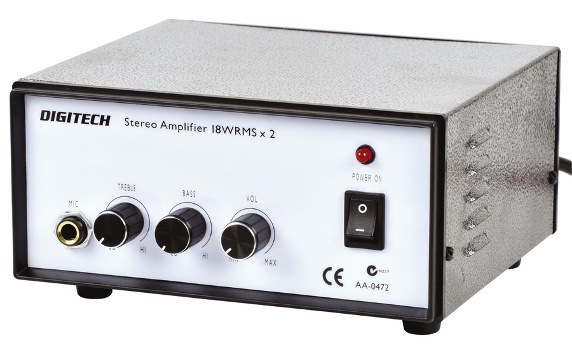 Low Cost Mains Powered Amplifier