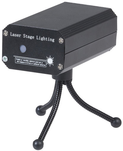 Photo of a portable mini stage laser light (with battery).