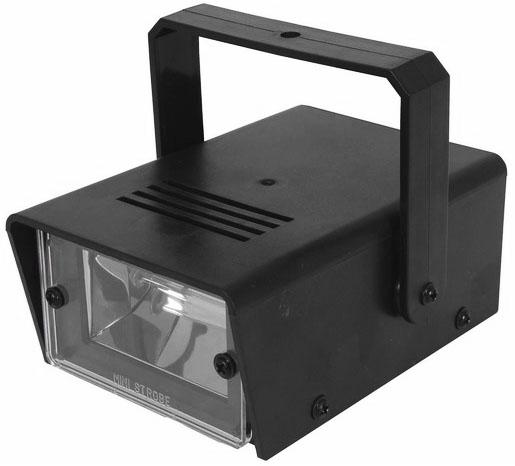 Photo of a mini strobe light.