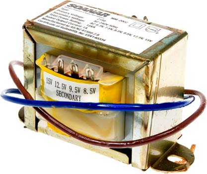 Photo of a 2155 type 1AMP transformer.