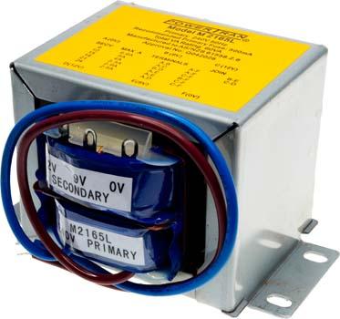 Photo of a 2165 type 60VA transformer.