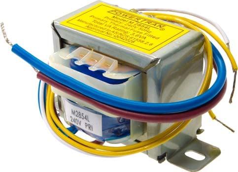Photo of a 24V CT 150mA transformer.