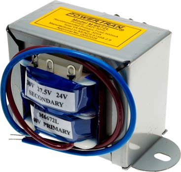 Photo of a 6672 type 1amp transformer.