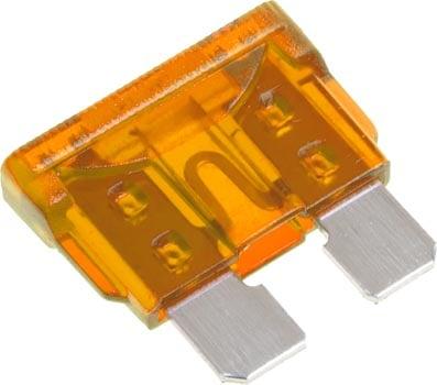 fuse box orange blade type fuse 5amp orange   wiltronics #13