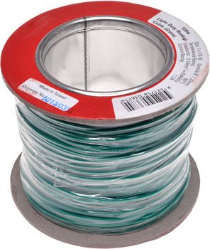 HOOKUP WIRE L/DUTY GREEN 100M