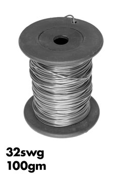 Nichrome wire 32 swg 027mm 100gm roll approx 180mtr wiltronics photo of a 100gm roll of 32swg nichrome wire greentooth Choice Image
