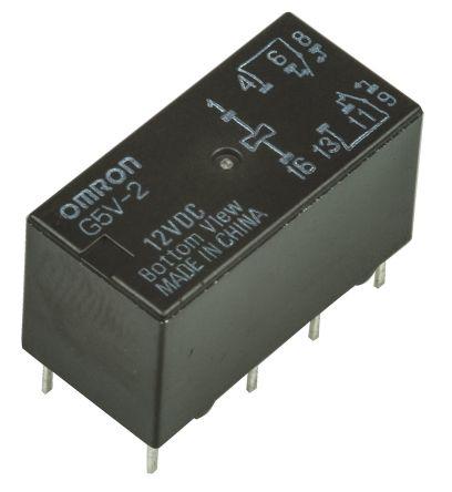 Omron G5v 1 12vdc Micro Spdt Relay Wiltronics