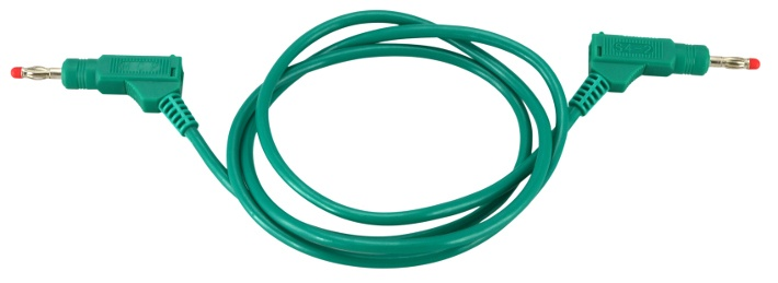 Test Lead 4mm Banana 1000mm Green