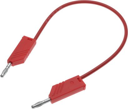 Test Lead 4mm Banana Plug 250mm Red