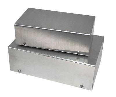 Photo of a K&W Z532 metal zippy box.