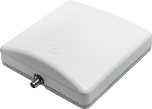 Photo of the top an AARC WiFi directional antenna.