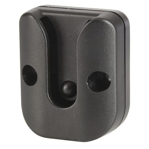 Black Microphone Wall Bracket