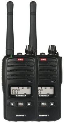 GME TX6160TP UHF Handheld 5W with Accessories
