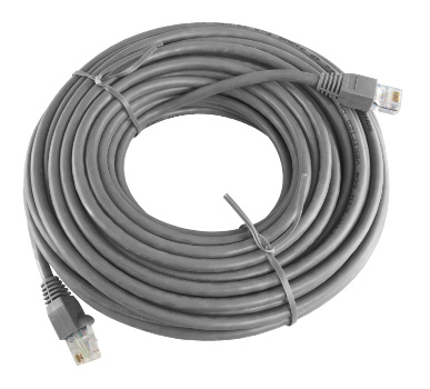 RJ45 Grey CAT5e Patch Lead 15 Metre