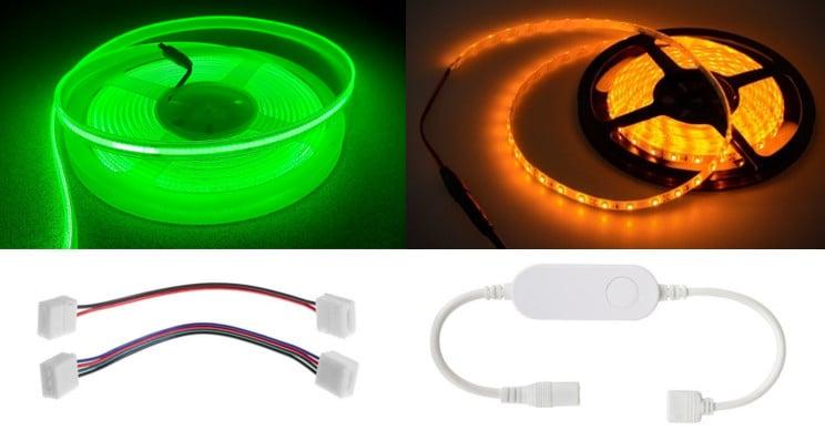 LED Strip Light 12VDC Flexible
