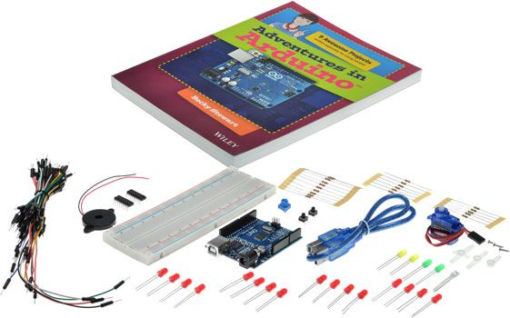 'Adventures in Arduino' Uno Starter Kit