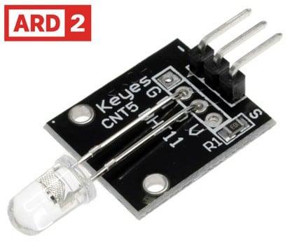Arduino Compatible ARD2 7 Colour Flash LED Module