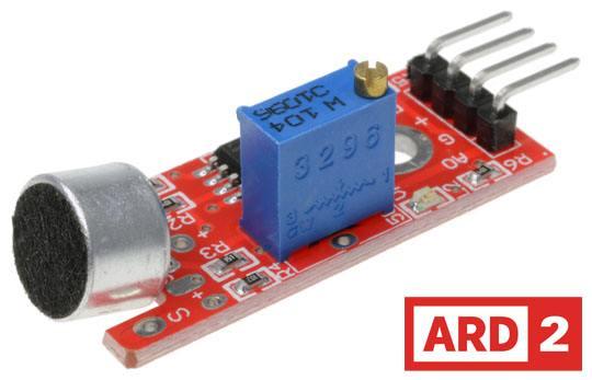 Arduino Compatible Audio Sensor High Sensitivity