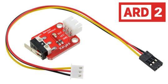 Bump Sensor Switch Arduino Compatible