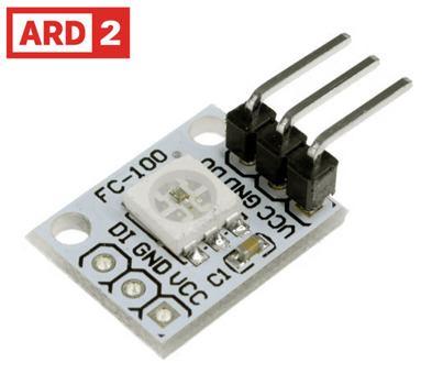 WS2812 Neopixel x 1 LED Light Module Arduino Compatible