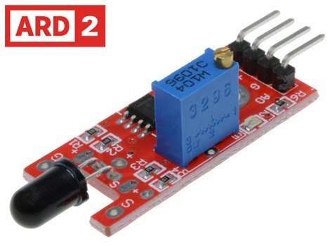 Arduino Compatible ARD2 Flame Sensor