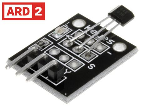 Arduino Compatible ARD2 Hall Effect Magnetic Sensor