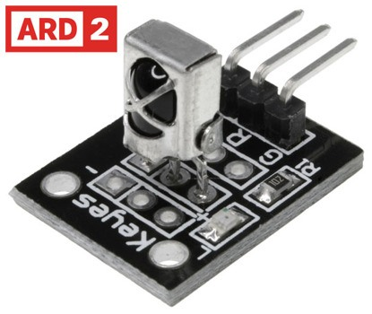Arduino Compatible ARD2 IR Receiver Sensor