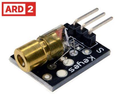 Arduino Compatible ARD2 Laser Module