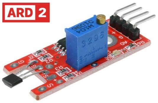 Arduino Compatible ARD2 Linear Hall Effect Sensor