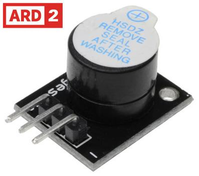 Arduino Compatible ARD2 Piezo Buzzer Module