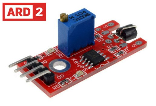 Arduino Compatible ARD2 Touch Sensor Red PCB KY-036