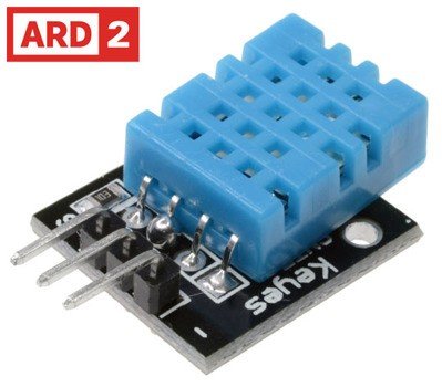 Arduino Compatible DHT11 Digital Temperature & Humidity Sensor Module