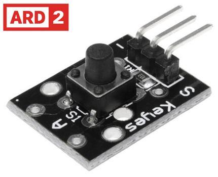 Arduino Compatible Push Button Sensor