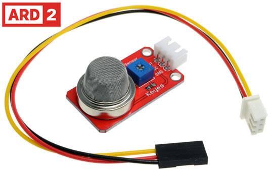 Arduino Compatible Smoke/Nitrogen/CO2 Gas Sensor