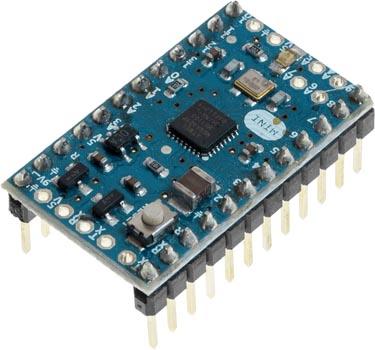 Photo an Arduino Mini 05.