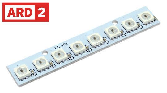 Ws2812 neopixel digital x 8 led light module for raspberry pi digital ws2812 rgb x 8 led light module for raspberry pi arduino etc freerunsca Choice Image