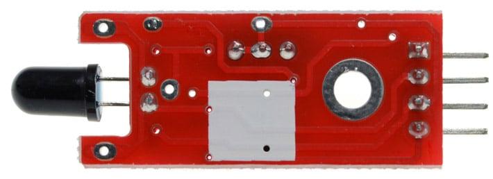 Flame Sensor Arduino Compatible